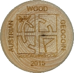 AUSTRIAN WOOD GEOCOIN