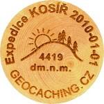 Expedice KOSÍŘ 2010-01-01