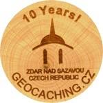 10 Years! - Žďár nad Sázavou