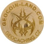 GEOCOIN-LAND.COM (Tribal logo)