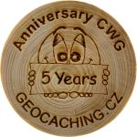 Anniversary CWG - 5 Years (cle00610)
