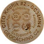 CITO Knoflík #2 - GC34HN4