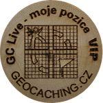 GC Live - moje pozice