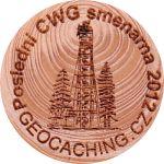 Poslední CWG smenarna 2012