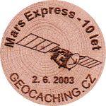 Mars Express - 10 let