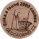 Erika.s found 2000 caches