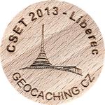 CSET 2013 - Liberec