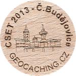 CSET 2013 - Č.Budějovice