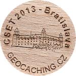 CSET 2013 - Bratislava