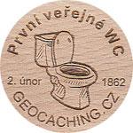 První veřejné WC