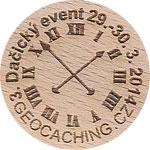 3. Dačický event 29.-30. 3. 2014