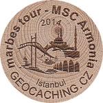 marbes tour - MSC Armonia