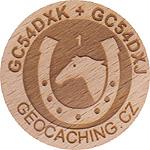 GC54DXK + GC54DXJ