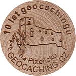10 let geocachingu