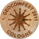 1. GEOCOINFEST 2011 - COLOGNE