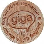 GIGA Munich August 2014 Dorsetgal & GeoDog