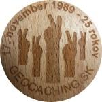 17. november 1989 - 25 rokov
