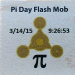 Pi Day Flash Mob