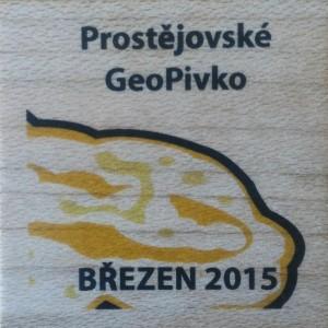 Prostějovské GeoPivko - BŘEZEN 2015