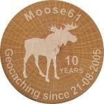 Moose61 - Geocaching since 21-08-2005