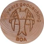 10 years geocaching