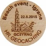Beach event - Igrane