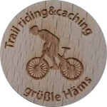 Trail riding&caching