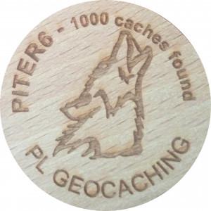 PITER6 - 1000 caches found