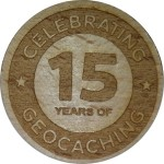 CELEBRATING 15 YEARS OF GEOCACHING
