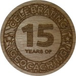 CELEBRATING 15 YEARS OF GEOCACHING