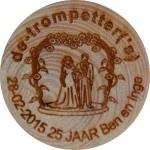 De-trompetter('s)  28-02-2015 25 jaar Ben en Inge