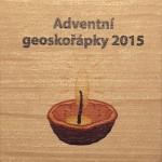 Adventní geoskořápky 2015