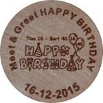 Meet & Greet HAPPY BIRTHDAY 16-12-2015