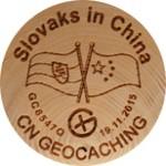 Slovaks In China