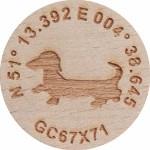 N51°13.392 E 004°38.645  GC67X71