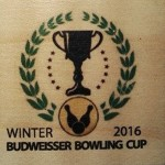 BUDWEISSER BOWLING CUP WINTER 2016