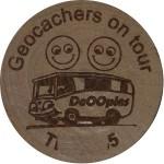 Geocachers on tour