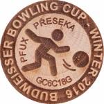 BUDWEISSER BOWLING CUP - WINTER 2016