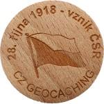 28. řijna 1918 - vznik ČSR