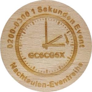 0200-0300 1 Sekunden Event Nachteulen-Eventreihe