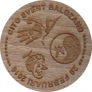 CITO EVENT BALGZAND