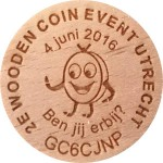 2E WOODEN COIN EVENT UTRECHT
