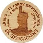 skapo - 11 rokov geocachingu
