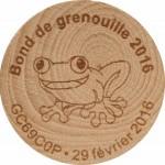 Bond de grenouille 2016