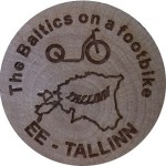 The Baltics on a footbike - Tallinn