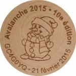 Avalanche 2015 • 10e édition