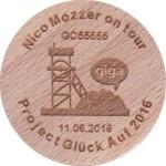 Nico Mozzer on tour - project Glück Auf 2016 - 11.06.2016