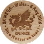 Nico Mozzer on tour - UK MEGA - Wales - 6 Aug 2016