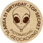 AREA 51 BIRTHDAY - TOP SECRET