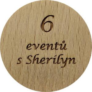 6 eventů s Sherilyn